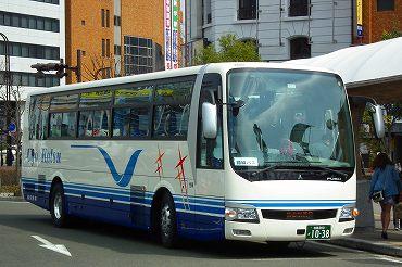 秋田発の長距離バス その2 羽後...