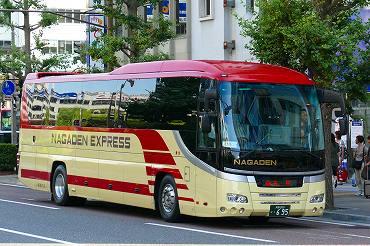 長野発の長距離バス その3 千曲バス・長電バス