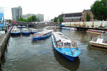アムステルダムの運河の画像 p1_16