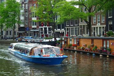 アムステルダムの運河の画像 p1_23