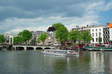 アムステルダムの運河の画像 p1_10