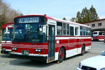 秋田の路線バス その2 羽後交通...