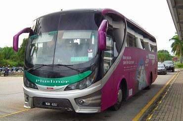 マレーシアのバス2012・2017