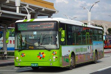 台北の路線バス
