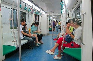 北京地下鉄の旅2014
