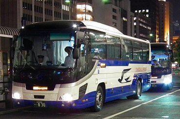 広島・山口発の夜行バス 中国JRバス・中国バス・広島電鉄 ...